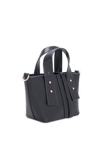 VINCCI black Satchel Bag E957CACF5A315AGS_1