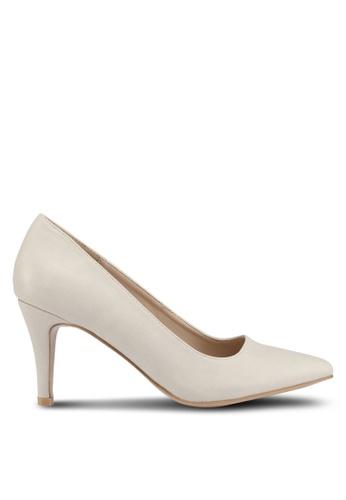 Bata 米褐色 Bata Women Heels 7B127SHF51FA47GS_1