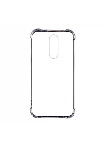 MobileHub grey Oppo F11 German Import Drop Resistant Silicone Case 5BFBBACC97FE6FGS_1