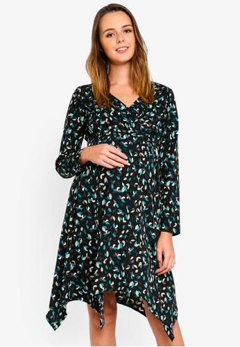 Mama.licious multi Maternity Cheetah Dress 968EEAA318DD09GS_1