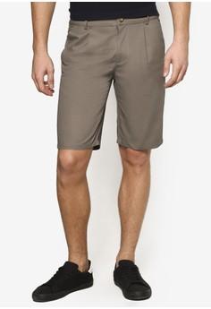 【ZALORA】 貼身休閒短褲