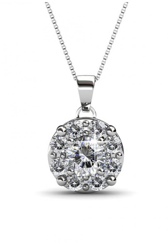 Her Jewellery silver Her Jewellery Elene Pendant with Necklace Chain with 18K Gold Plated BDF25ACF085477GS_1