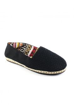 Habi Footwear Men's Classic Espadrilles - Black