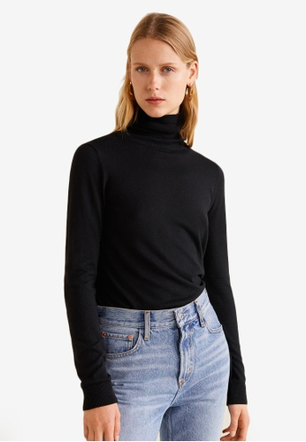 Mango black Turtleneck Sweater BD1FDAA006AB5AGS_1