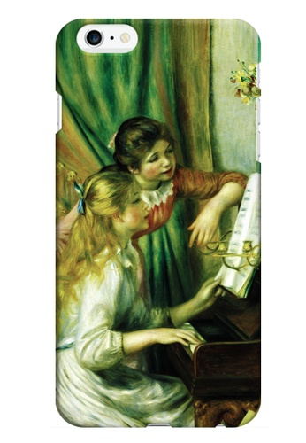 Wonder Cover multi Girls at the Piano Matte Hard Case for iPhone 6 Plus WO617AC26AQJPH_1