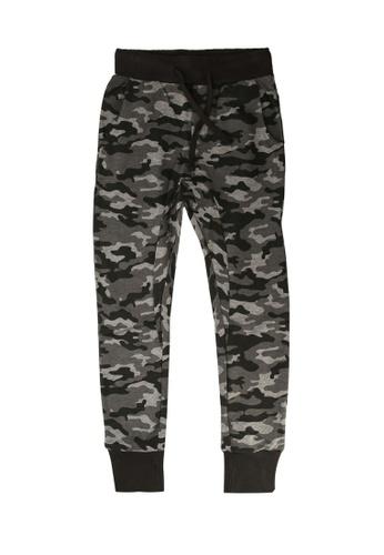 FOX Kids & Baby grey Kids Boy Camo Print Jersey Pants BB1B8KAEAA73CCGS_1
