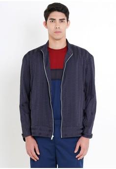 [PRE-ORDER] Checkered Zip-up Jacket