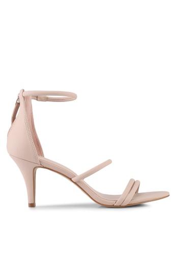 ALDO pink Prong Heeled Sandals F9F8DSHC377DB7GS_1