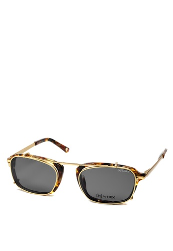 HEX EYEWEAR multi and beige and brown Actor - Matt D. - Optical with Clip-on - Italy Design HE671AC2V1KYHK_1