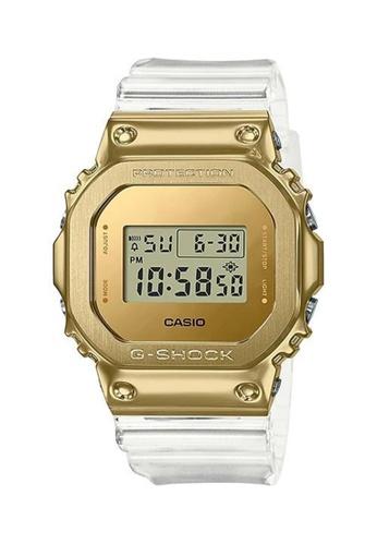 G-shock 金色 G-Shock Digital Gold Ingot Transparent Watch (GM-5600SG-9) 0D08FAC494A2A0GS_1