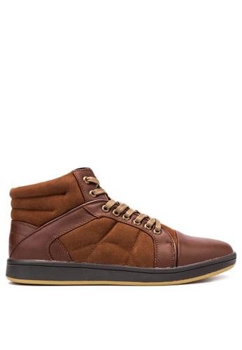 Mendrez brown Smart Casual Shoes ME992SH16VWPPH_1