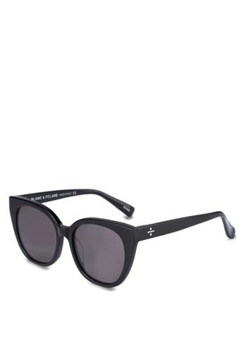 BLANC & ECLARE black Monaco Sunglasses 0160CGLC82B90EGS_1