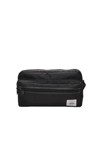 Taylor Fine Goods black Sling Bag Japanese 401 Hitam TA912AC78AMFID_1