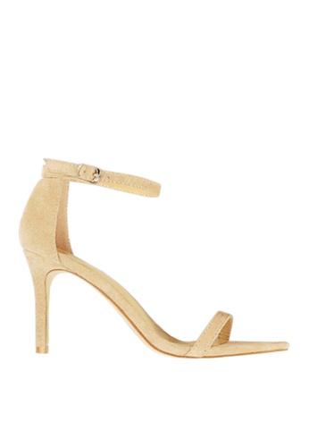 Twenty Eight Shoes beige Suede Single Strap Heel Sandals VS126A9 7A6EESH58B5FE3GS_1