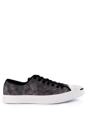 Converse black and multi Jack Purcell Ltt 73BC1SH824D5E2GS_1