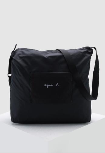Agnes B black Tote F2A34AC794B633GS_1