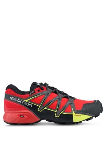 Salomon red Speedcross Vario 2 Gtx Shoes B455DSHD1FA85BGS_1