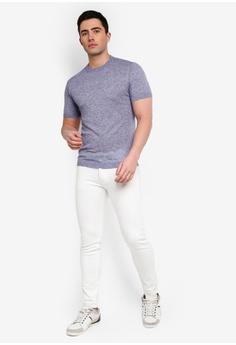 1c36c9b452a 33% OFF MANGO Man Cotton Linen-Blend T-Shirt RM 104.90 NOW RM 69.90 Sizes S  M L XL