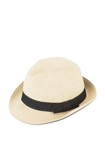 編織圓頂草帽, 飾品esprit台灣配件, 飾品配件