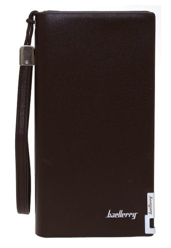 Baellerry brown Card Wallet Dompet Kartu Model Panjang Many Slot Material PU Leather ORIGINAL 8FC3DAC18320FBGS_1