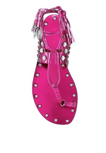 d2e314e6d1e4 Buy TOPSHOP Ghillie Sandals Online on ZALORA Singapore