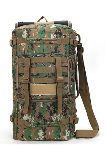 Local Lion multi and brown Local Lion 3 Style Outdoor Camping Water Resistent Large Hiking Backpack 50L 125 (Brown Camo) 65C14ACC2C5612GS_1