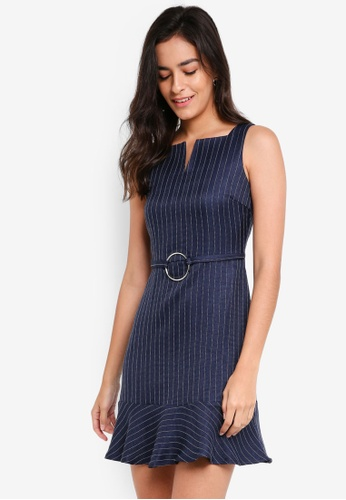 ZALORA navy Sleeveless Mod Dress EB939AAB8E9D22GS_1