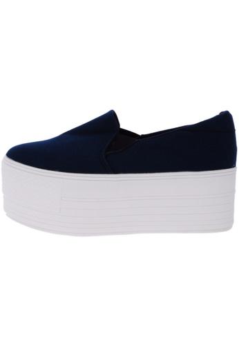 Maxstar C7 60 Synthetic Cotton White Platform Slip on Sneakers US Women Size MA168SH10DKNHK_1