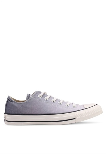Converse 灰色 Chuck Taylor All Star Ombre Wash Ox 運動鞋 38D37SHC834933GS_1