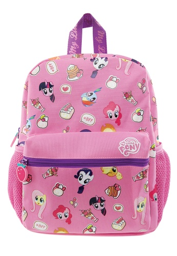 My Little Pony pink My Little Pony BFF Kids Backpack (12-inch) 1BB77KC58231B5GS_1