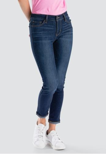 cb43e4c151b84d Levi's blue Levi's 711 Skinny Ankle Jeans Women 19558-0058  64DC4AA70DFE08GS_1