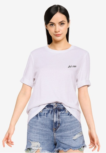 Guess white Short Sleeve Ginette Tee 25270AA167641AGS_1