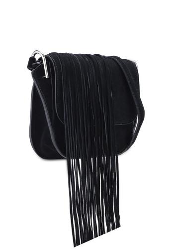 31a2370028c0f Buy Mango Fringe Leather Bag Online on ZALORA Singapore