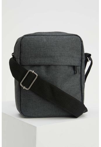 DeFacto grey Man Shoulder Bag DCEC9AC0147627GS_1