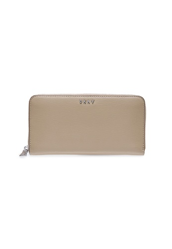 Dkny beige DKNY Women Bryant Zip Around Wallet - Spring & Summer 2021 5AD16AC8E758EDGS_1