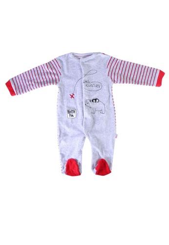 Babybol red Baby Long Sleeve Romper 1EFF0KA4F603E6GS_1