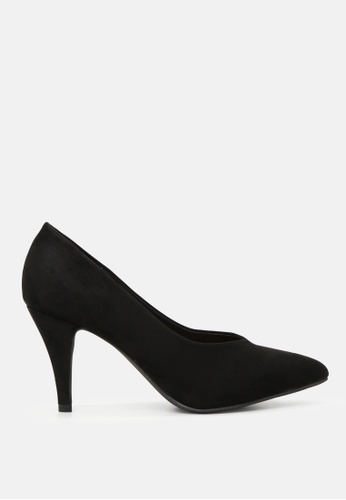 849f6f799c London Rag black Classic Black Pointed Toe Pumps SH1818 E31A6SH4B72631GS_1