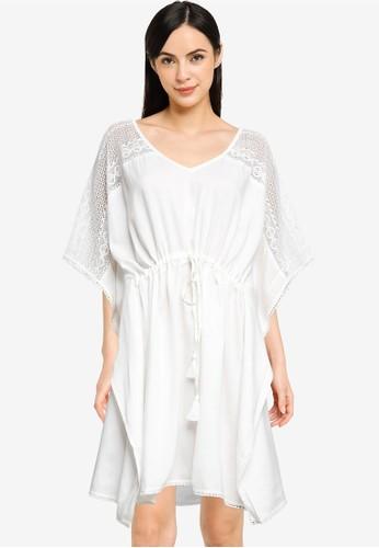 LC Waikiki white Lacy Shabby Dress D25F1AA00313FCGS_1