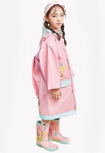 Twenty Eight Shoes pink VANSA Fashion Cartoon Raincoat VCK-R15280A AFA4DKA717E7BAGS_1