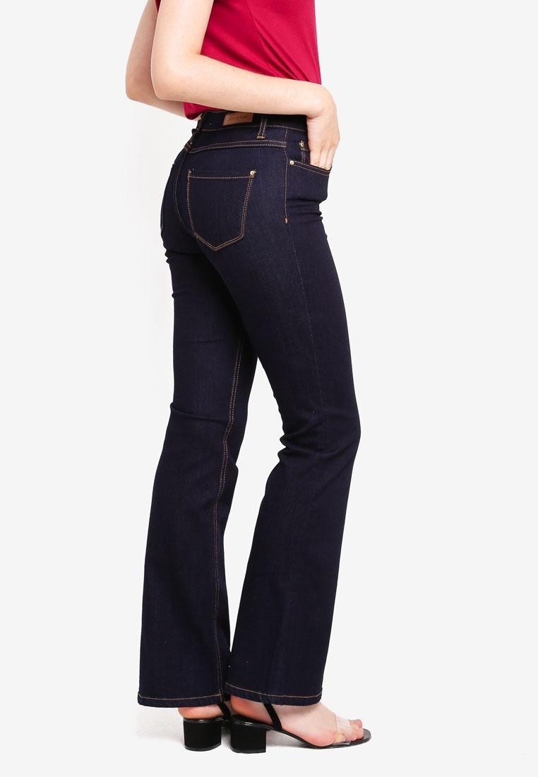 Flared Denim YONG Dark Elia JACQUELINE DE Blue Jeans O1qBqAt