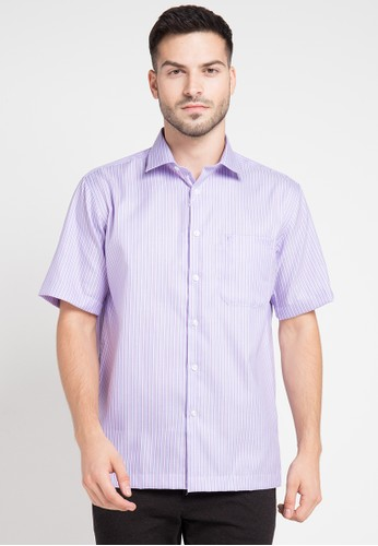 Guy Laroche purple Short Sleeves GU709AA0VUSHID_1