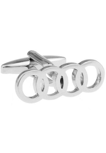 The Little Link Cufflinks silver Audi Cufflinks TH089AC35AQUSG_1