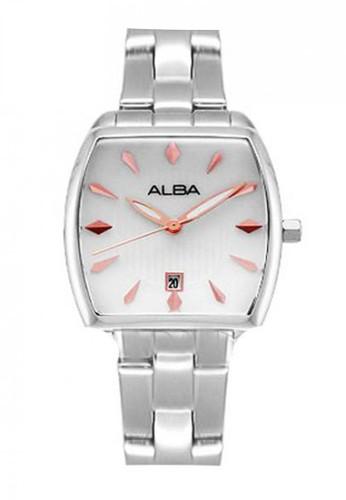 Alba silver Jam Tangan Wanita Alba Original AH7K87 Strap Stainless Steel Silver D45C9AC2C34365GS_1