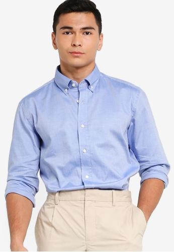 BOSS 藍色 Joakim Shirt - BOSS Men F1266AADF58131GS_1