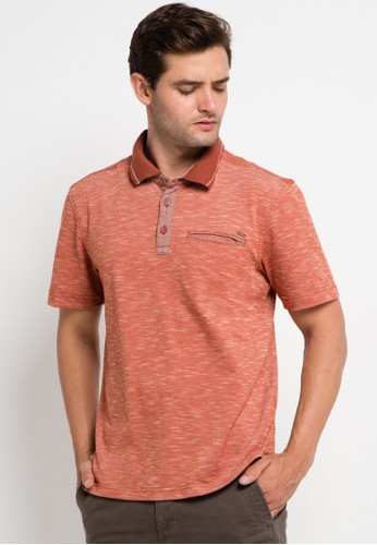 Watchout! Casual orange Short Sleeve With Collar WA972AA0VFHKID_1