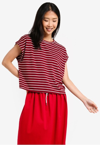 ZALORA BASICS multi Basic Oversized Boxy T-Shirt 7705DAAD2FB346GS_1