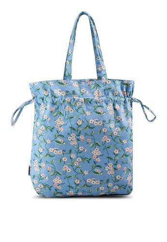 Cath Kidston blue Forget Me Not The Hitch Tote Bag 3BFA9AC4BACF6DGS_1