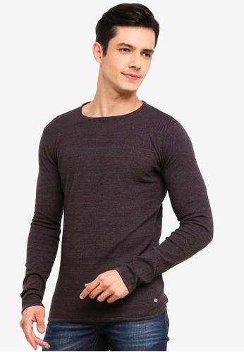 !Solid 藍色 Jasen 針織Sweater 53B8FAAC94EDFFGS_1