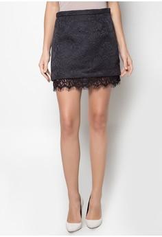 Textured Knit Mini Skirt