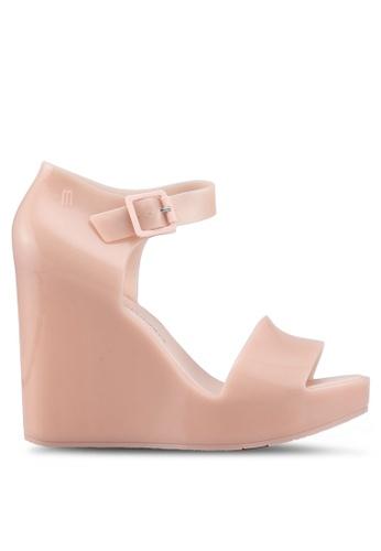 Melissa 粉紅色 Melissa Mar Ad 楔型鞋 9C573SH4CE3289GS_1